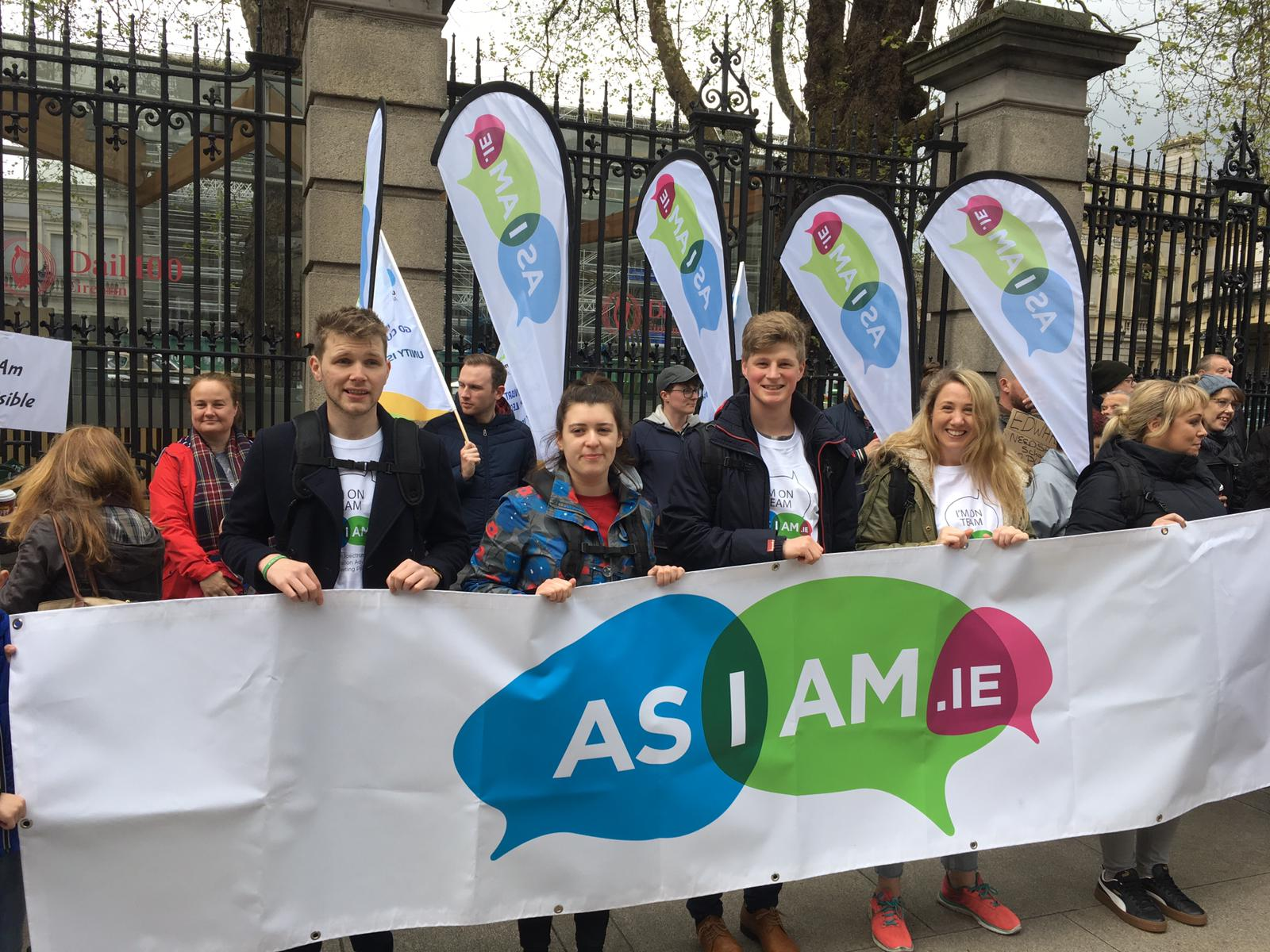 asiam_enough is enough protest_irelands national autism charity and advocacy organisation